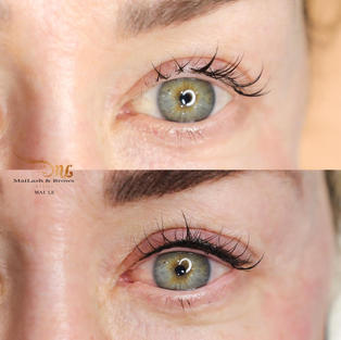 Lash line with a wing