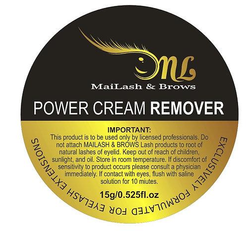 Power Cream Remover