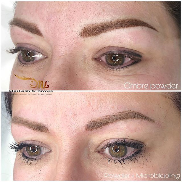 Microblading vs. Ombre Powder