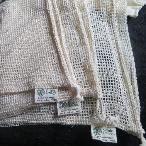 Simple Ecology Mesh produce bag set