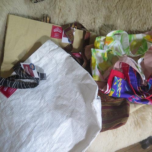 Local, hand made Boomerang Bag