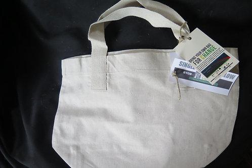 Hemp blend reusable bag