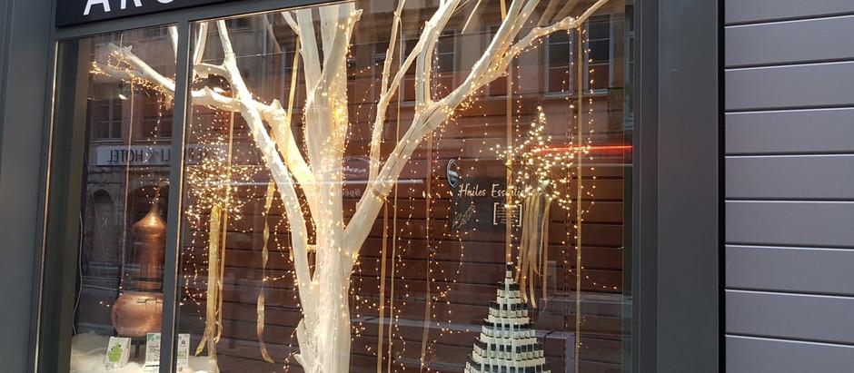 Aroma-Zone - vitrines de fin d'année