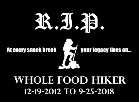 Celebrating Whole Food Hiker