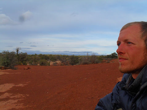 Aria Zoner - on The Hayduke Trail.JPG