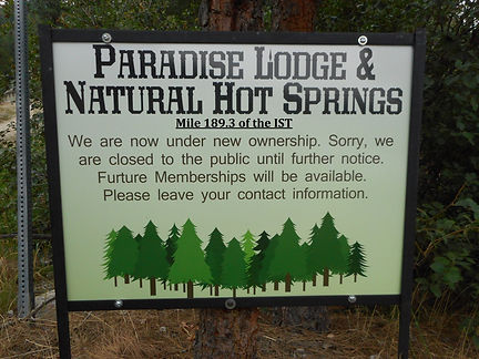 The Hot Springs Trail - resort closure.J