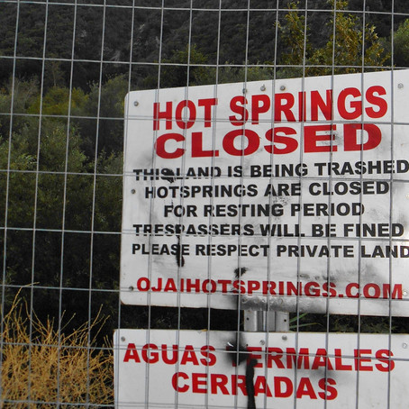 Signs on The Hot Springs Trail Explained