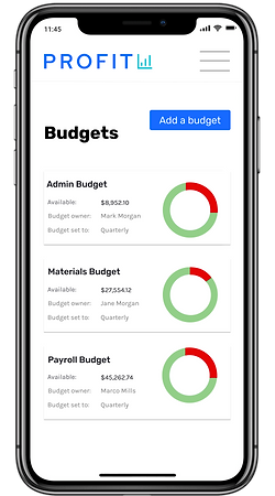 open business checking account online budgeting Profit bank