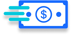 open business checking account online dollar icon