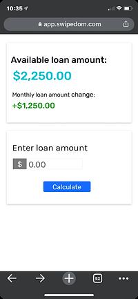 0% interest business loan increase
