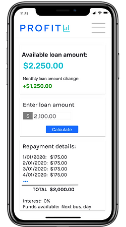 open business checking account online 0% loan Profit bank