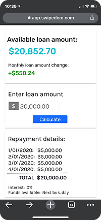 0% interest business loans