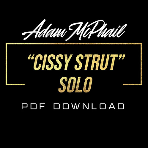 """""""Cissy Strut"""" Solo Transcription - Live at The Thirsty Hippo 11/29/19"""