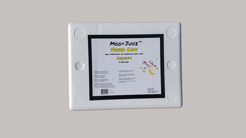 Moo Juice Fresh Cow --14 boluses
