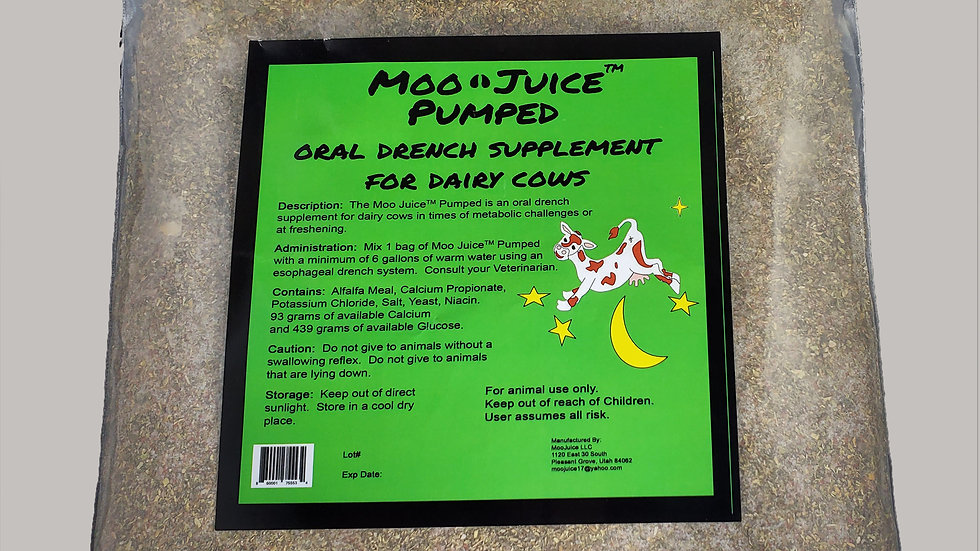 Moo Juice Pumped -- 5 bags