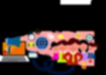 PDAs business marketing concepts set.png