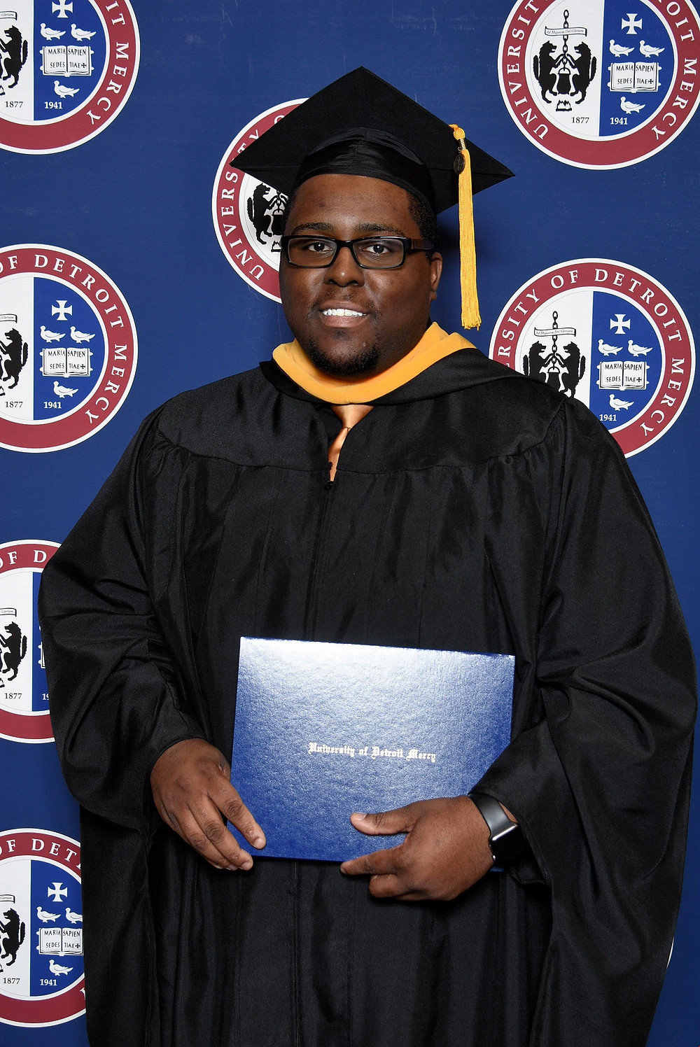 Mr. Ellison graduated with his Master's from The University of Detroit Mercy in 2018