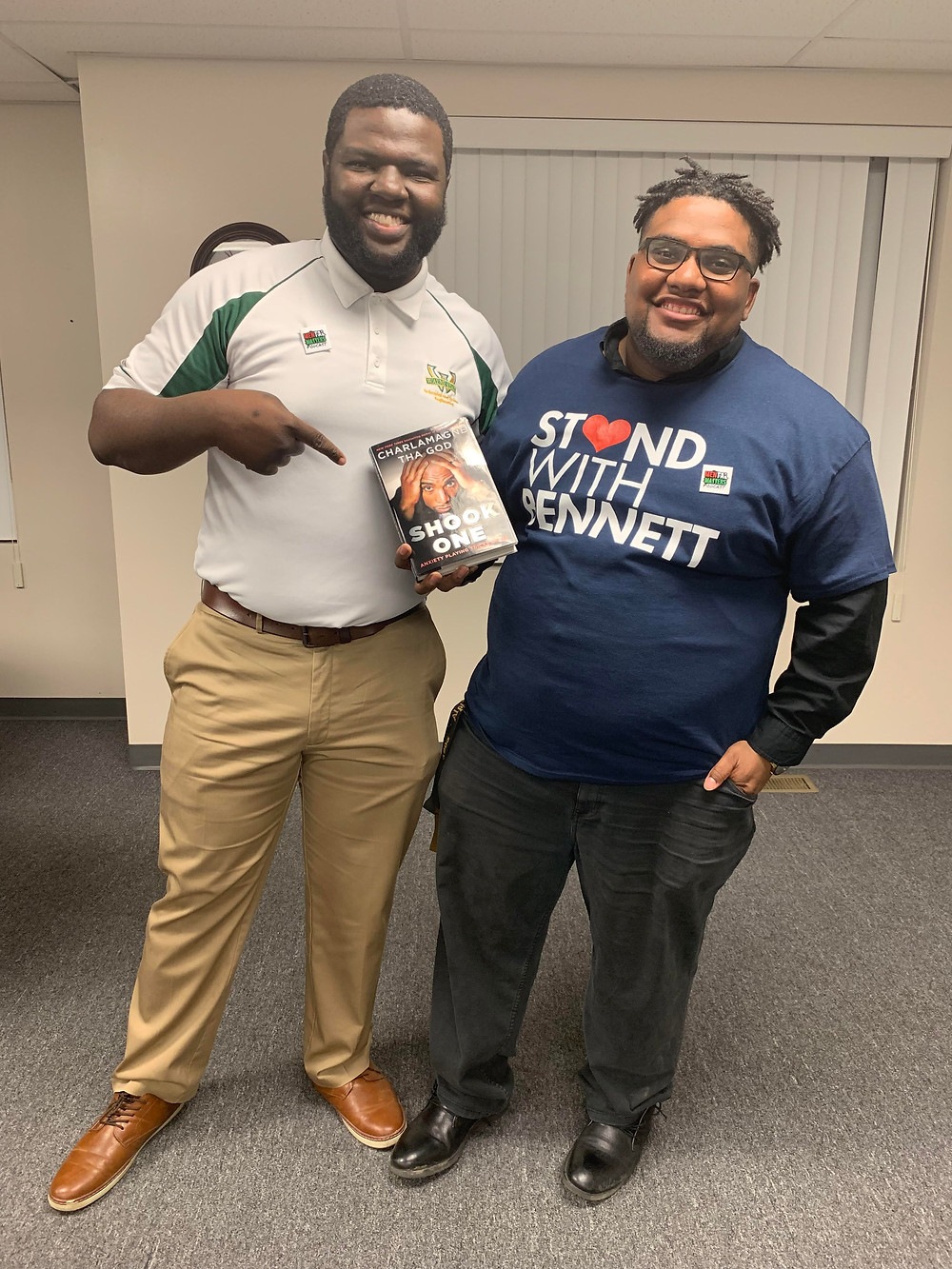 Jerrell and Richard, Host of the Mental Matters Podcast