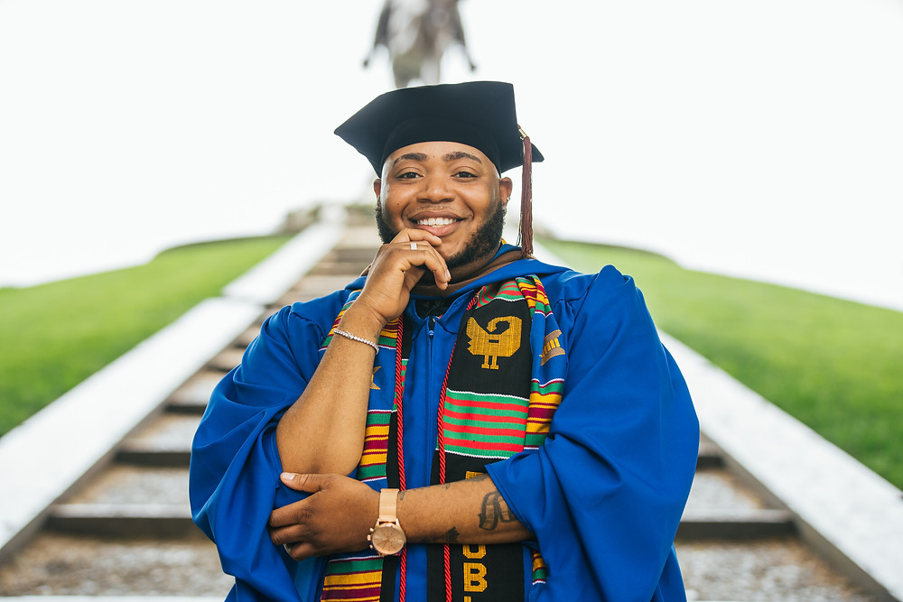 Mr. McClinton graduated from Grand Valley State University with his Bachelor's in Communications W/Emphasis in Broadcasting while minoring in African American Studies and his Master's in Film Production from DePaul University