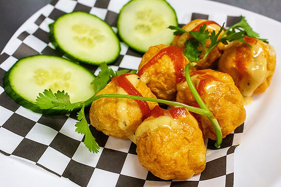 A5- Fried Fish Balls - Ca Vien Chien