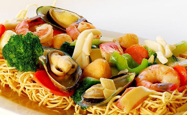 M3- Bird Nest Seafood - Mi Xao Gion Do Bien