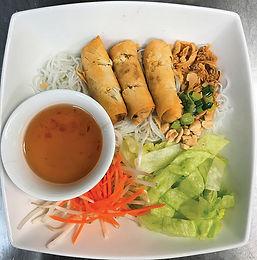 V17- Vermicelli with Veggie Eggroll / Bun Cha Gio Chay