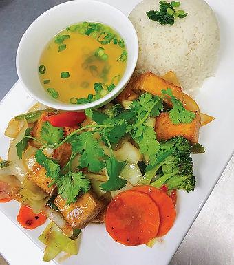 V2- Tofu Temple / Dau Hu Xao Chua Ngot