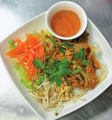 N1- Vermicelli with Grill Pork or Chicken - Bun Thit Nuong