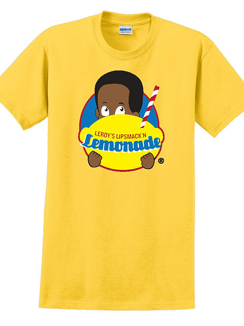 Leroy's Lip Smack'n Lemonade T-Shirt (Yellow)