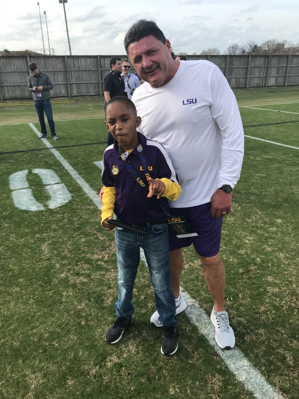 Leroy Helps LSU Win!