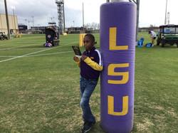Leroy Helps LSU Win!