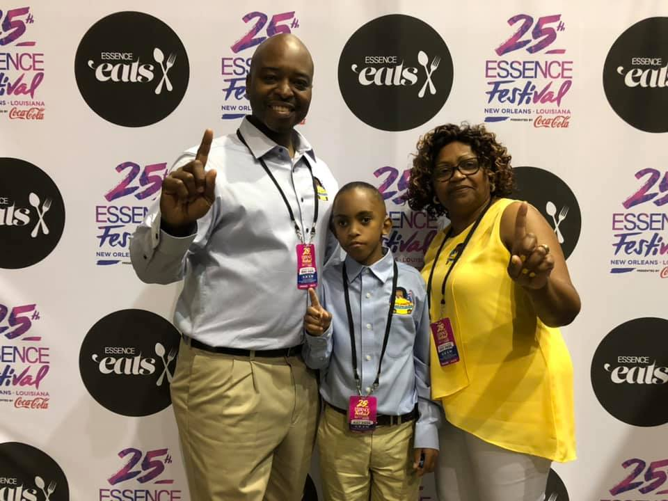 Leroy at Essence Fest 2019