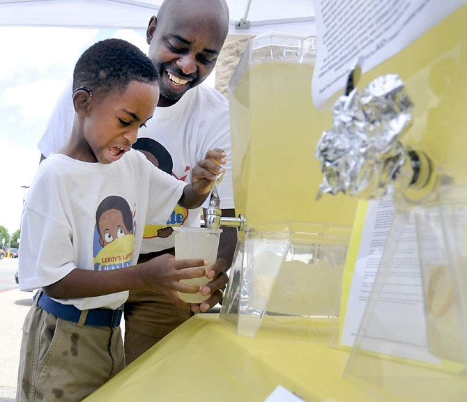 A Child Gives Back: Baton Rouge 8-year-old's lemonade stand helps hospitals that helped him