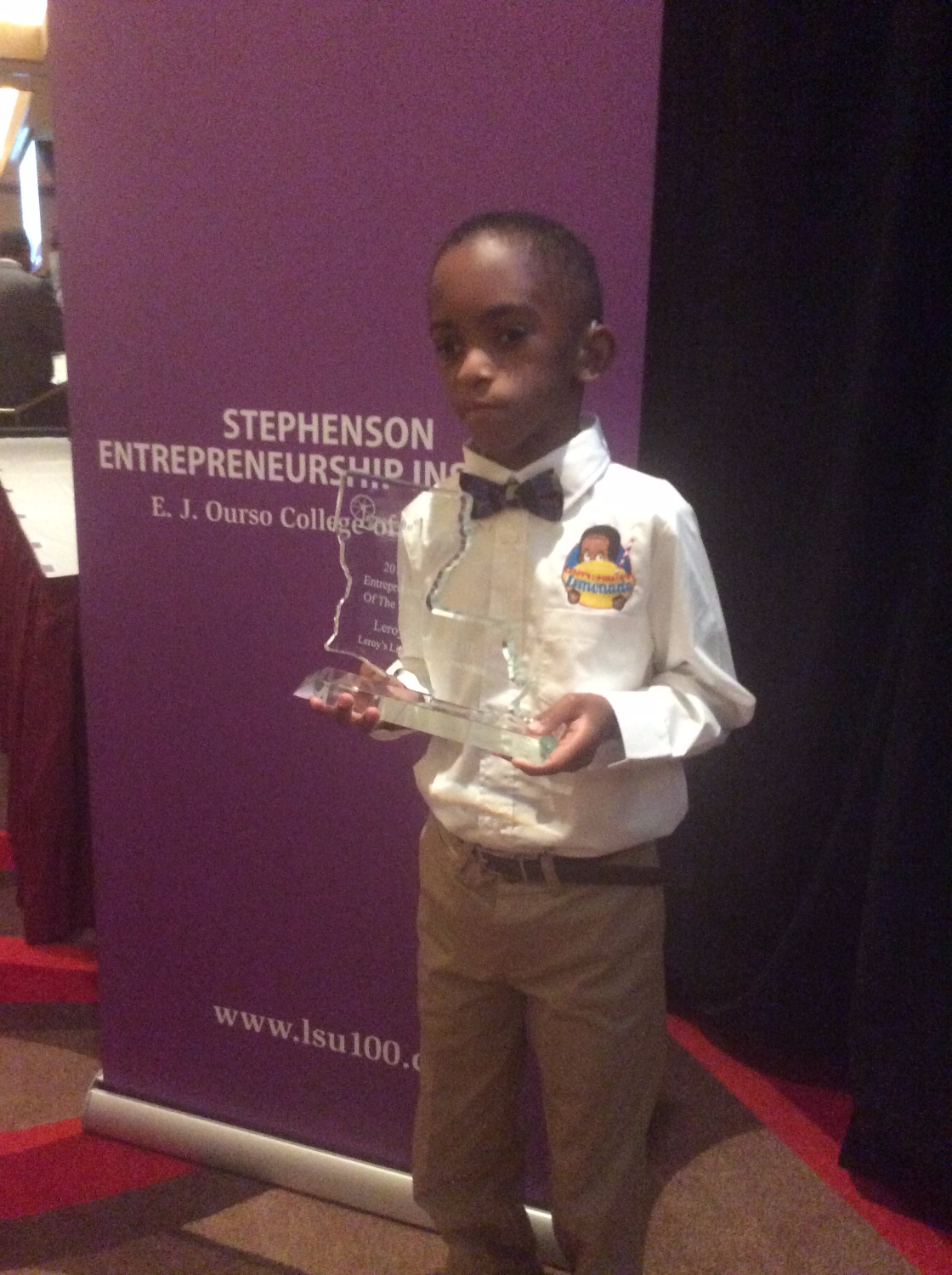 Entrepreneur of the Year at LSU 100
