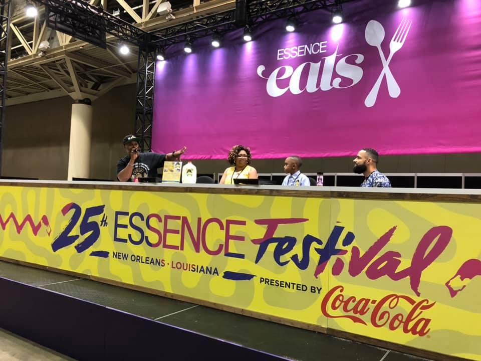 Leroy on Essence Eats Stage