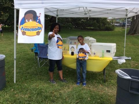 Leroy's LipSmack'n Lemonade at the Baton Rouge Blue Festival
