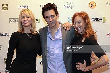 With Ronni MArmo, Lisa London at screeni