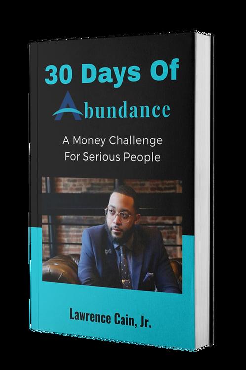 30 Days Of Abundance Money Challege (EBook)