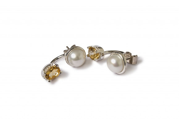 """Aretes """"Pearl - Stoned"""""""
