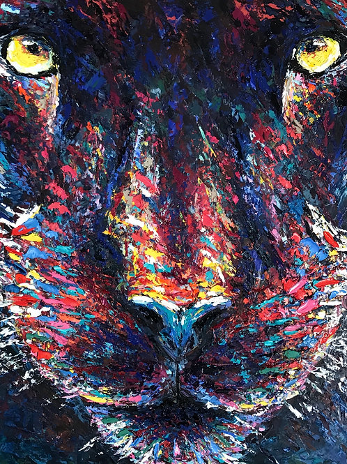 "Black Panther | 24 X 30"" Print"