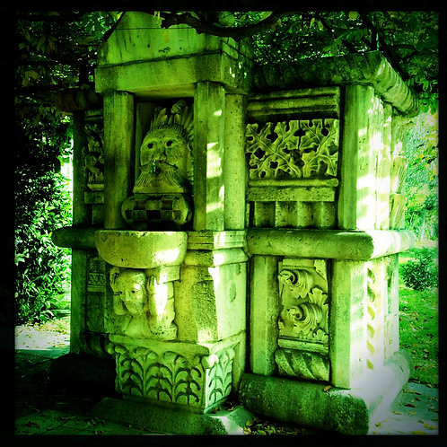 53. 38x38: The Green Man Fountain: Solin,
