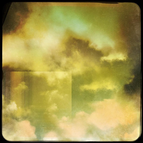 12x12 Clouded: Stretched Canvas Layered Print