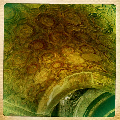 33. 8x8 Mosaic Ceiling: Pompeii, Italy