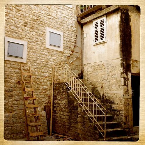 35. 8x8 Corner Stairs: Split, Croatia