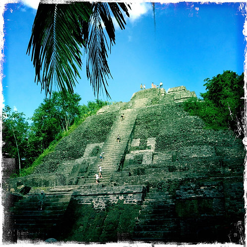 39.12x12: Climbing Toward the Sky: Lamanai, Belize