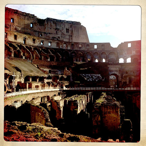 9. 38x38: Within the Colosseum: Rome, Italy