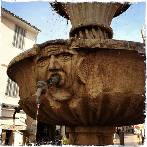 18. 8x8: Wood Sprite Fountain: Marseille, France