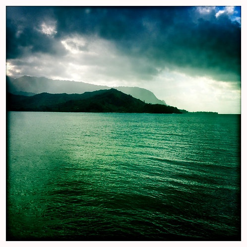 32. 12x12: Hanalei Bay: Kauai, HI