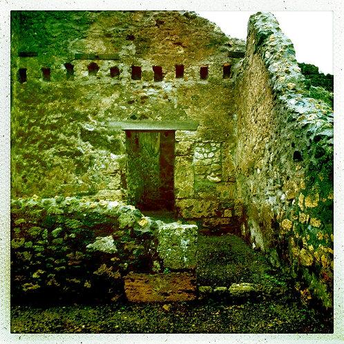 28. 38x38 In Ruins: Pompeii, Italy