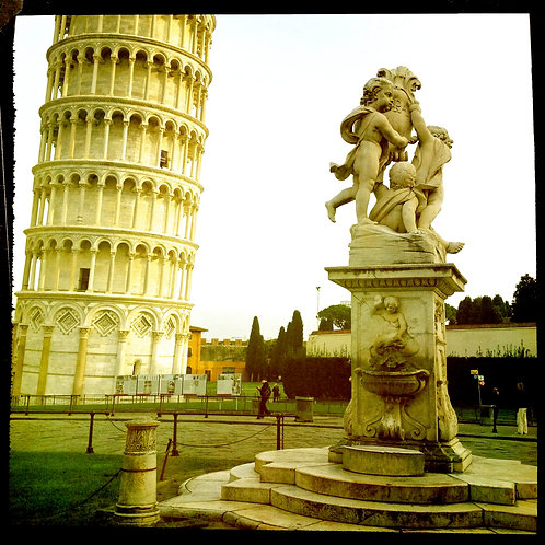 22. 20x20: Fountain by the Tower: Pisa, Italy